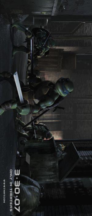 Teenage Mutant Ninja Turtles 808x1900