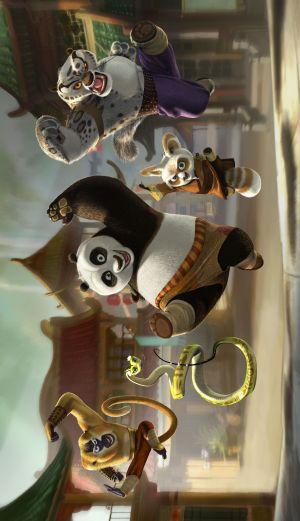 Kung Fu Panda 2198x3815