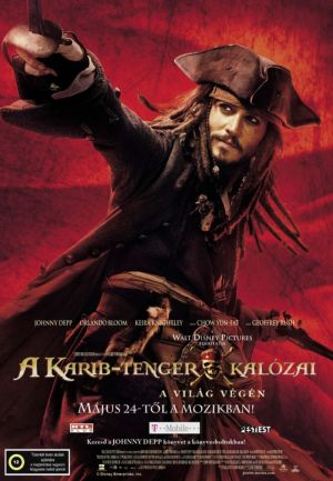 Pirates of the Caribbean: At World's End 699x1008