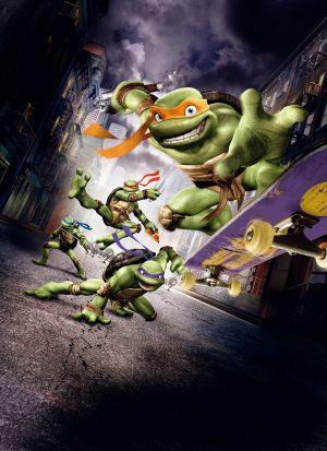 Teenage Mutant Ninja Turtles 3000x4131