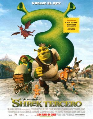 Shrek the Third 1960x2500