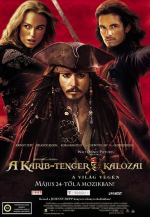 Pirates of the Caribbean: At World's End 485x700