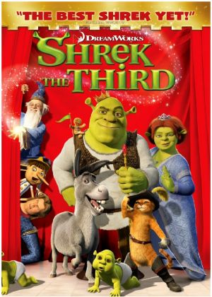 Shrek the Third Dvd cover