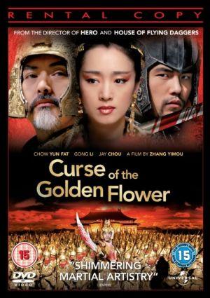 Der Fluch der goldenen Blume 500x708