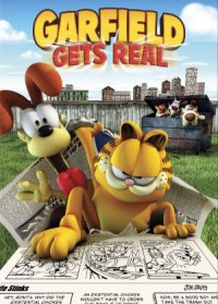 Garfield en la vida real poster
