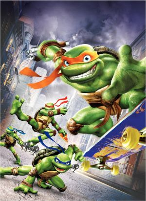 Teenage Mutant Ninja Turtles 1617x2217
