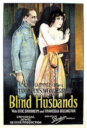Blind Husbands Poster