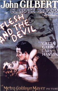 Flesh and the Devil poster