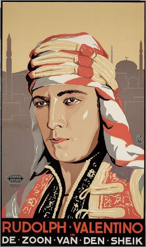 The Son of the Sheik Poster
