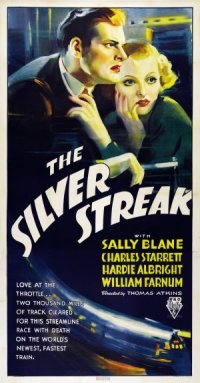 The Silver Streak poster