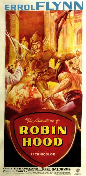 The Adventures of Robin Hood 1227x2500