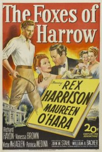 The Foxes of Harrow poster
