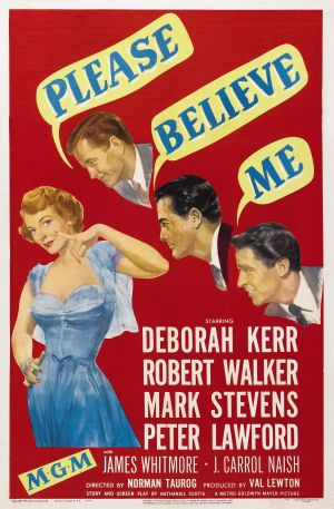 Please Believe Me Poster