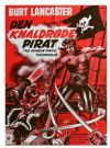 The Crimson Pirate Poster