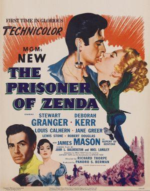 The Prisoner of Zenda 1958x2500