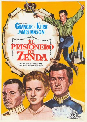 The Prisoner of Zenda 1645x2300