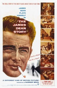 The James Dean Story poster