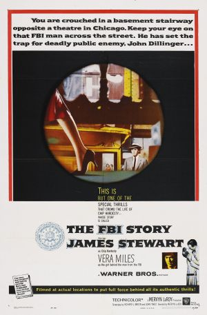 The FBI Story Theatrical poster