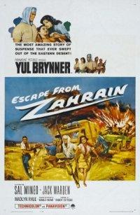 Escape from Zahrain poster