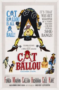 Cat Ballou - Hängen sollst du in Wyoming poster