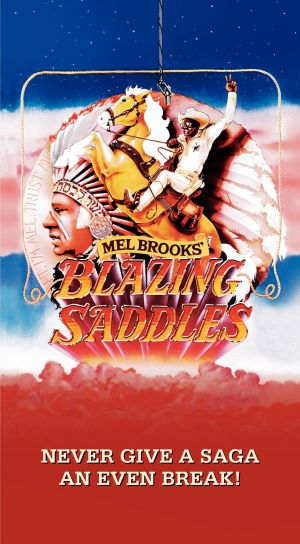 Blazing Saddles 1233x2237