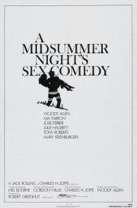 A Midsummer Night's Sex Comedy poster