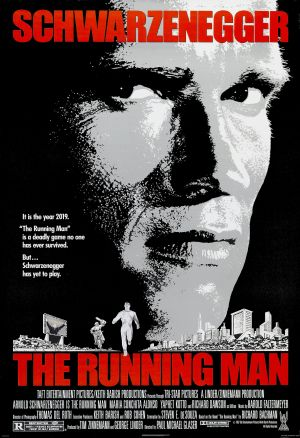 The Running Man Poster