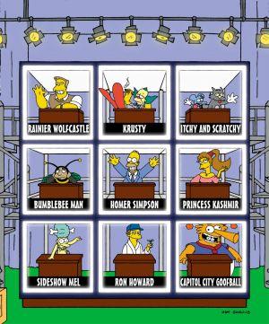Die Simpsons 1181x1421