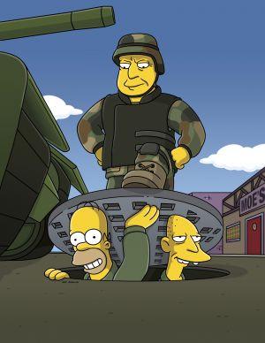 Die Simpsons 3400x4400
