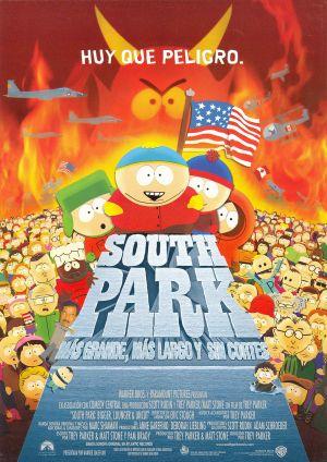 South Park: Bigger, Longer & Uncut 1769x2500