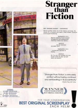 Stranger Than Fiction 500x692