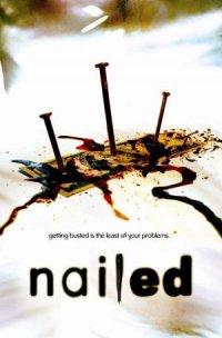 Nailed poster