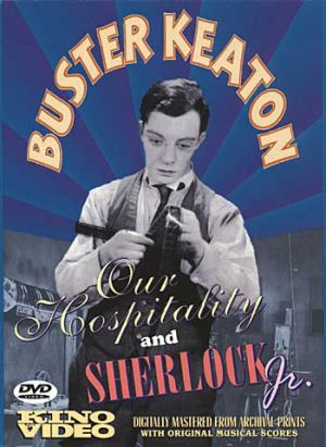 Sherlock Jr. Dvd cover