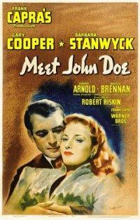 Meet John Doe poster