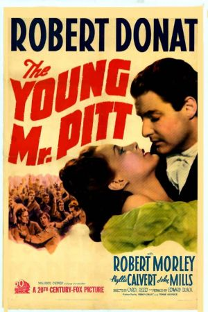 The Young Mr. Pitt Poster