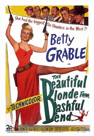 The Beautiful Blonde from Bashful Bend Poster