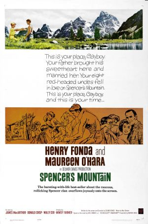 Spencer's Mountain Poster