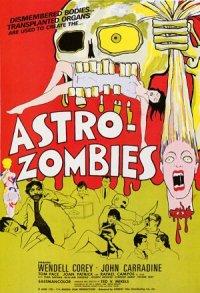 The Astro-Zombies poster