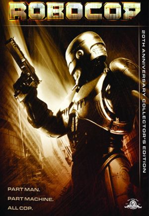 RoboCop Dvd cover