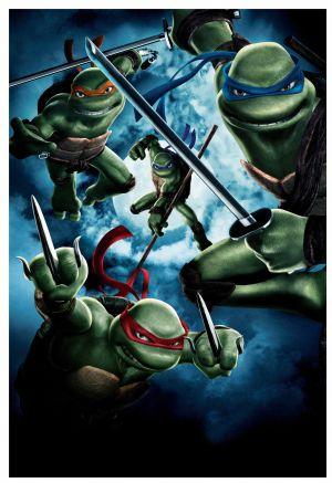 Teenage Mutant Ninja Turtles 3434x5000