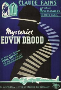 Mystery of Edwin Drood poster