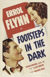 Footsteps in the Dark poster