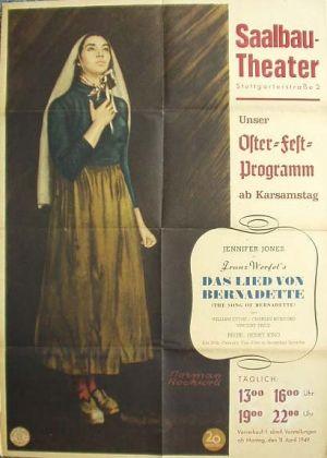 The Song of Bernadette 410x574