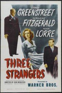 Three Strangers poster