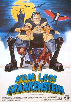 Bud Abbott Lou Costello Meet Frankenstein 340x487