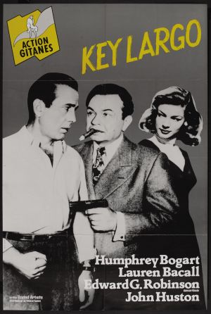 Key Largo Re-release poster