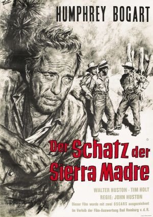 The Treasure of the Sierra Madre Re-release poster