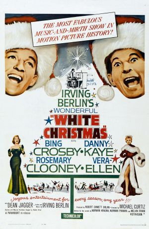 White Christmas Re-release poster