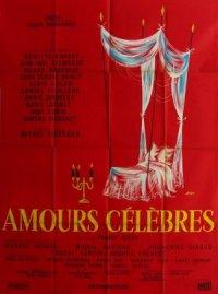 Amori celebri poster