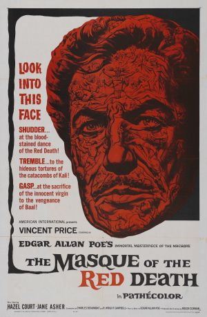 The Masque of the Red Death Theatrical poster